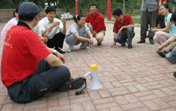 西门子(中国)公司团队拓展训练