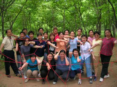 北京市教委团队拓展训练